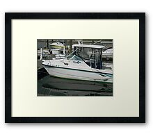 Docked    ^ Framed Print