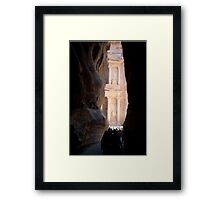 First Glimpse of the Treasury Framed Print