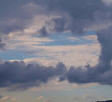 Window to the sky , clouds via  Mt. Barney  by Virginia McGowan