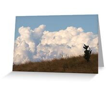 Just a bit of Fluff on the horizon, via Mt Barney Greeting Card
