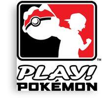 Play Pokemon Canvas Print