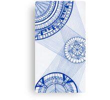 Mandala Web Canvas Print