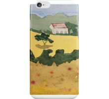 Yellow Field iPhone Case/Skin