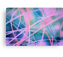 Blowing in the wind - abstract 6 Canvas Print
