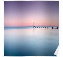 Tranquility at Sunset - Selsey, West Sussex Poster