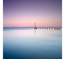 Tranquility at Sunset - Selsey, West Sussex Photographic Print