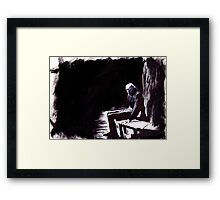 The Great Death of Wisborg Framed Print