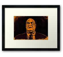 I'm a Big Boy Now, Johnny Framed Print