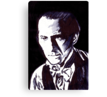 The Gentle Man of Horror Canvas Print