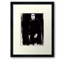 Count Dracula Framed Print