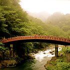 Nikko, Japan - Red Bridge by serepink