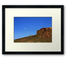 Up Before The Sun Framed Print