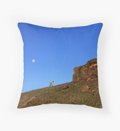 Up Before The Sun Throw Pillow