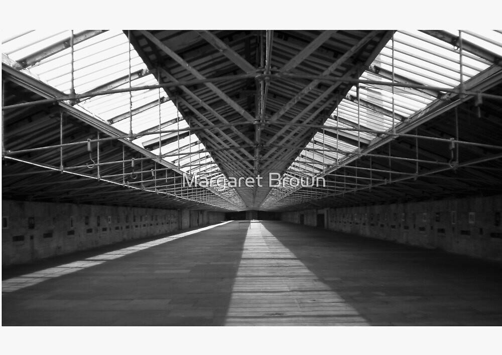 Top Floor of Salts Mill by Margaret Brown