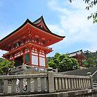 Kyoto: Otowa-san Kiyomizu-dera temple 02 (音羽山清水寺) by serepink
