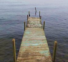Old Dock on the Lake by anniepage