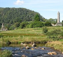 Glendalough, the beautiful valley of Ireland by Annie-Lace