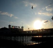 Brighton Pier by Natalie Broome