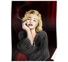 Marilyn Smoking Poster