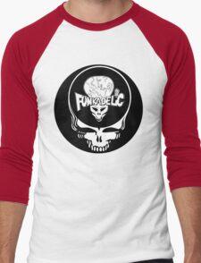 Funkadelic and Grateful Dead Steal Your Face. Men's Baseball ¾ T-Shirt