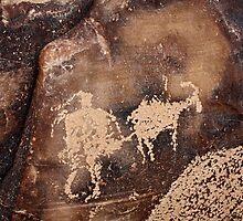 Indain Hunt Petroglyph by Bellavista2