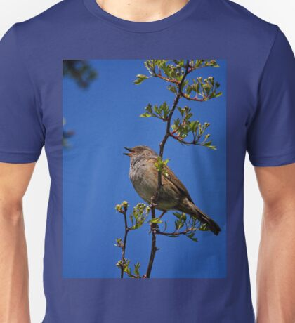 Singing his heart out Unisex T-Shirt