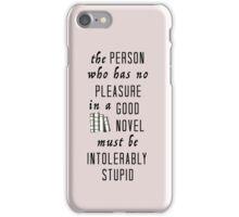 Good novel iPhone Case/Skin