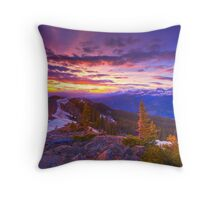 Cottonwood Pass, Colorado Throw Pillow