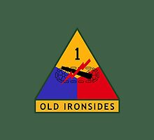 1st Armored Division (United States) by wordwidesymbols