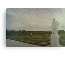 Lonely Sculpture Canvas Print
