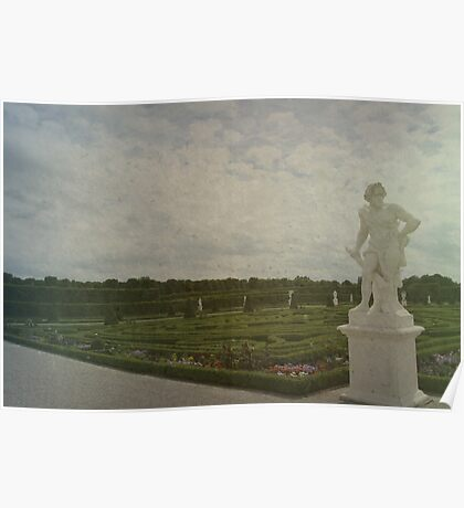 Lonely Sculpture Poster