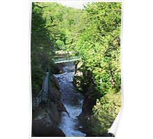 High Falls Gorge Poster