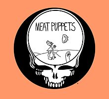 Meat Puppets / Grateful Dead Steal Your Face  by drewgillespie