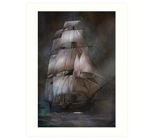 Sea stories II.... Art Print