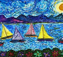 Moonlight Sail by Monica Engeler