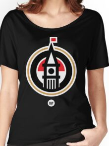 BBG019B —Tower (Reversed) Women's Relaxed Fit T-Shirt