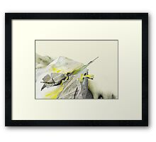 Nature VS Future 1 Framed Print