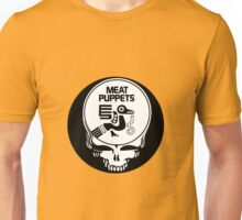 Meat Puppets / Grateful Dead Steal Your Face  Unisex T-Shirt