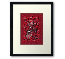 Power Centre Puzzle Framed Print
