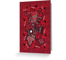 Power Centre Puzzle Greeting Card