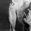 Out of the Fog - Self Portrait by Jaeda DeWalt