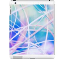 Blowing in the wind - abstract 4 iPad Case/Skin