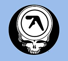 Aphex Twin / Grateful Dead Steal Your Face  by Cornbread Red