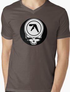Aphex Twin / Grateful Dead Steal Your Face  Mens V-Neck T-Shirt