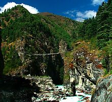 Highest suspension Bridge in Nepal by Pascal Lee (LIPF)