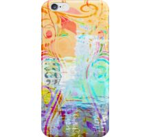 Pastel Flourishes Abstract iPhone Case/Skin