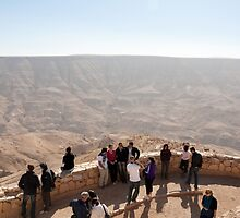 Lookout over Wadi Mujib by Mark Prior