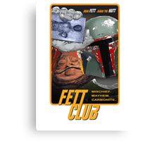 Fett Club (Orig.) Canvas Print