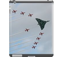 Avro Vulcan Escorted by the Red Arrows iPad Case/Skin