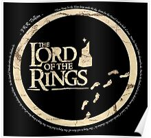 Simplistic Lord of the Rings Poster